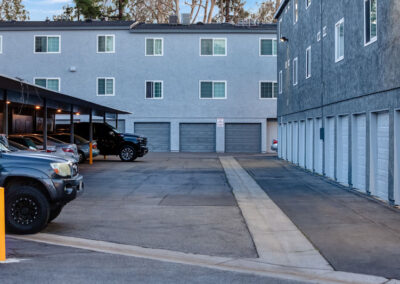 Countrywood Apartment Homes cover parking
